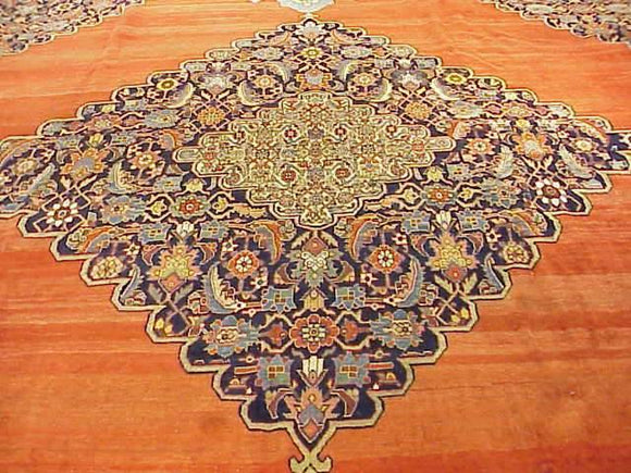 Dazzling 15x19 Authentic Handmade Persian Rug
