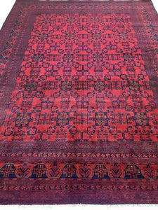 Stunning 11x8 Authentic Hand-knotted Khal Momadi Rug - Pakistan