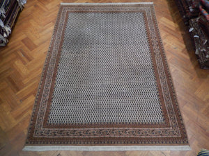 Harooni Rugs - Dazzling 8x11 Authentic Handmade Mir Rug - India
