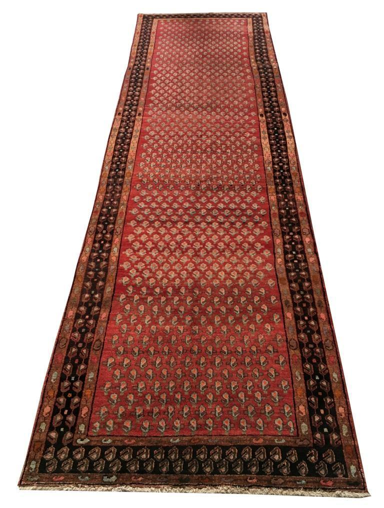 Luxurious 5x18 Authentic Hand-knotted Persian Lori Rug - Iran