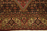 Authentic Hand-Knotted 4x7 High End Persian Bijar Rug - Traditional