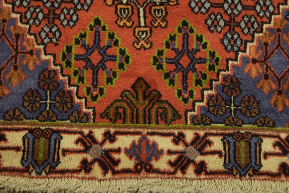 Harooni Rugs - Authentic Hand-Knotted 4x5 Semi Antique EB Djosheghan Rug - Traditional