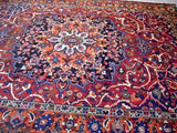 10x13 Authentic Hand Knotted Persian Bakhtiar Rug - Iran