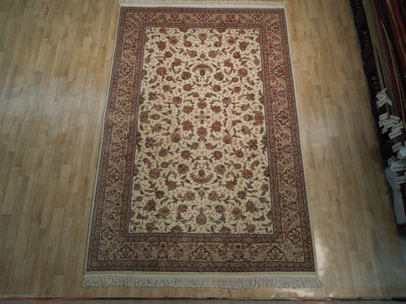 6x9 Authentic Handmade Wool & Silk Fine Quality Rug - China