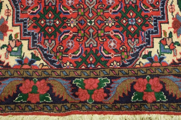 Harooni Rugs - Authentic Hand-Knotted 3x5 Zanjan EB Bijar Rug - Traditional