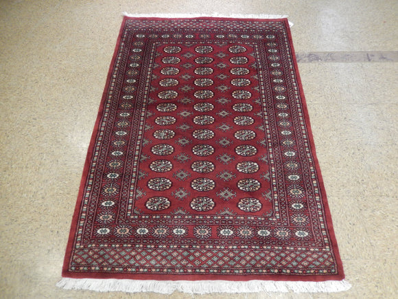 Harooni Originals - 4x6 Authentic Hand-Knotted Bokhara Rug - Pakistan