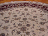 Harooni Originals - 8x8 Authentic Handmade Silk&Wool Rug - China