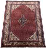 3x5 Authentic Hand-knotted Persian Hamadan Rug - Iran