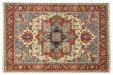 Harooni Rugs - Exotic 9x12 Authentic Hand Knotted Serapi Rug - India