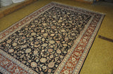 Harooni Rugs - Vintage 6x9 Authentic Hand-Knotted Silk Rug - China