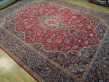 Harooni Rugs - Fascinating 10x13 Authentic Hand Knotted Persian Kashan Rug - Iran