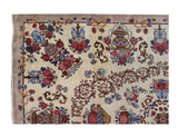 Harooni Rugs - Vintage 10x14 Authentic Hand Knotted Persian Mashad Rug - Iran