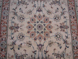 3x10 Authentic Handmade Persian Nain Runner-Iran