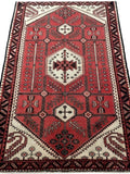 5x9 Authentic Hand-knotted Persian Hamadan Rug - Iran