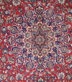 11x16 Authentic Hand-knotted Persian Signed Isfahan Rug - Iran