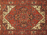 Harooni Rugs - Dazzling 8x11 Authentic Hand-Knotted Serapi Rug - India