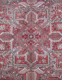 10x13 Authentic Hand-knotted Persian Heriz Rug - Iran