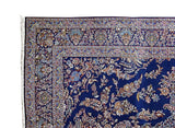 11x16 Authentic Hand Knotted Persian Kashan Rug - Iran