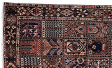 7x10 Authentic Hand Knotted Persian Bakhtiari Rug - Iran