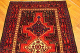 4x5 Authentic Handmade Persian Hamadan Rug-Iran
