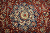 Harooni Originals - 8x12 Authentic Hand Knotted Fine Quality EB Isfahan Rug - Traditional