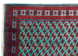 10x12 Authentic Hand Knotted Persian Turkoman Rug - Iran