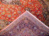 10x15 Authentic Hand Knotted Persian Kashan Rug - Iran