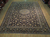 10x13 Authentic Hand Knotted Semi-Antique Persian Najafabad Rug - Iran