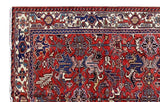 7x11 Authentic Hand Knotted Persian Heriz Rug - Iran