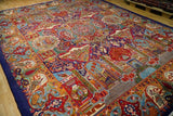 10x13 Authentic Hand Knotted Fine Quality Persian Kashmar Rug - Iran
