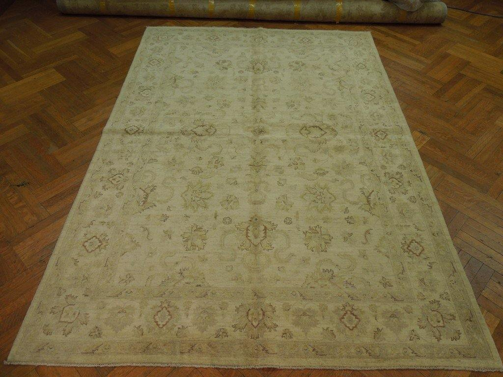Radiant 7x10 Authentic Handmade Chobi Peshawar Rug - Pakistan
