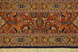 Fascinating 7x8 Authentic Hand-Knotted Rug