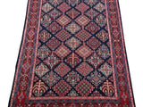 5x7 Authentic Hand-knotted Persian Hamadan Rug - Iran