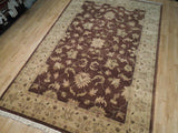 Harooni Rugs - Dazzling 6x9 Authentic Handmade Oushak Rug - India