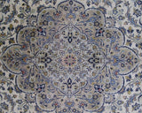 12x17 Authentic Hand-knotted Persian Signed Kashan Rug - Iran
