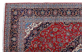 Harooni Rugs - Premium 8x11 Authentic Hand Knotted Persian Kashan Rug - Iran