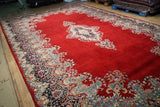 10x16 Authentic Hand Knotted Fine Quality Persian Kerman Rug - Iran