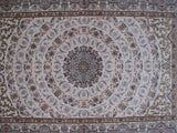 4x6 Authentic Hand-knotted Persian Signed Isfahan Rug - Iran