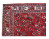 8x11 Authentic Hand Knotted Persian Hamadan Rug - Iran