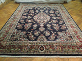 Harooni Rugs - Dazzling 8x10 Authentic Handmade Sarouk Rug - India