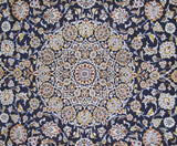 10x14 Authentic Hand-knotted Persian Signed Kashan Rug - Iran