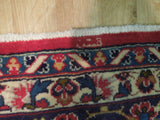 10x14 Authentic Hand Knotted Signed Persian Kashan Rug - Iran