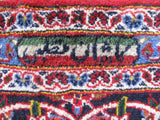 10x13 Authentic Hand-knotted Persian Signed Kashan Rug - Iran
