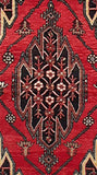 4x6 Authentic Hand Knotted Persian Hamadan Rug - Iran
