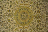 5x8 Authentic Hand-Knotted Silk Rug - China