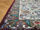 5x8 Authentic Handmade Persian Kashan Rug-Iran