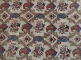 5x8 Authentic Hand Knotted Semi-Antique Persian Esfahan Rug - Iran