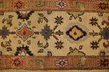 Harooni Rugs - Dazzling 3x16 Authentic Hand-Knotted Mahal Runner Rug - India