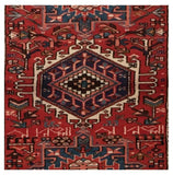 3x11 Authentic Hand-knotted Persian Karaja Rug - Iran