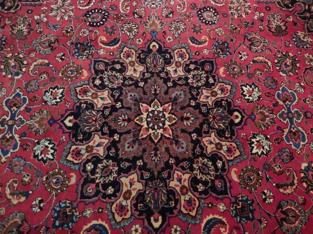10x13 Authentic Hand Knotted Semi-Antique Persian Tabriz Rug - Iran